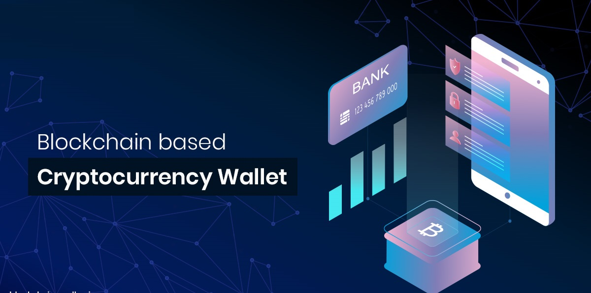 Blockchain based cryptocurrency wallet app