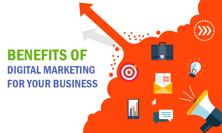 The benefits of Digital Marketing for Business