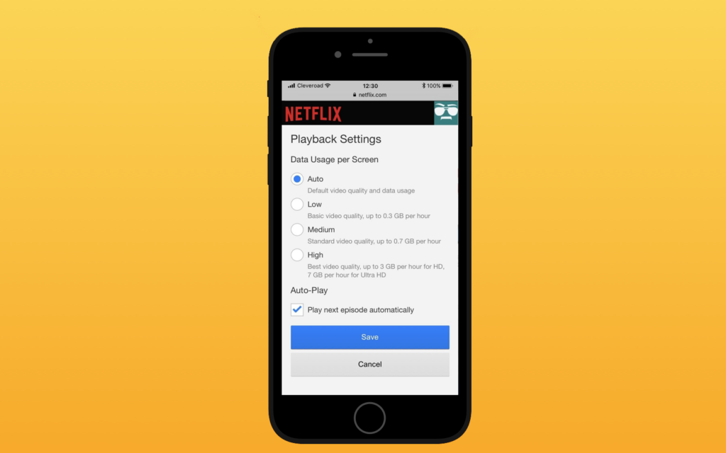 Additional Features of Netflix App
