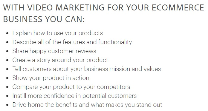 With Video Marketing For Your E commerce Business