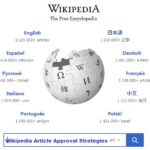Wikipedia Article Approval Strategies