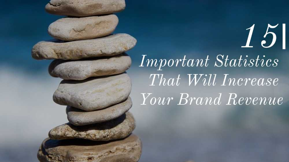 15 Important Statistics That Will Increase Your Brand Revenue