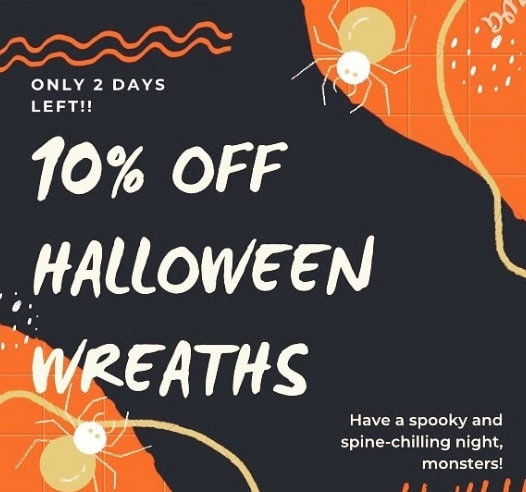 Discounts on all Halloween products