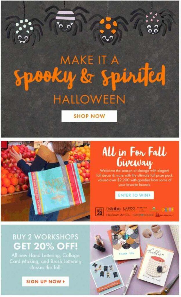 Halloween marketing newsletter to boost sales in 2021